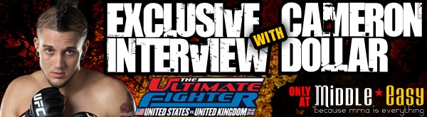 Exclusive Interview with The Ultimate Fighter's Cameron Dollar