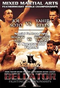 Bellator X! TONIGHT! But really tomorrow!