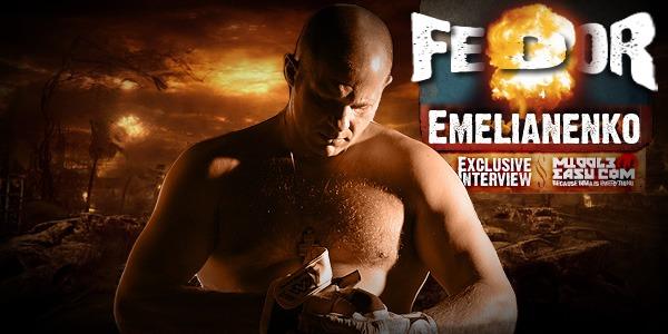 Exclusive interview with Fedor Emelianenko
