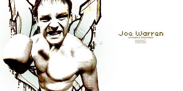 Exclusive interview with Joe Warren