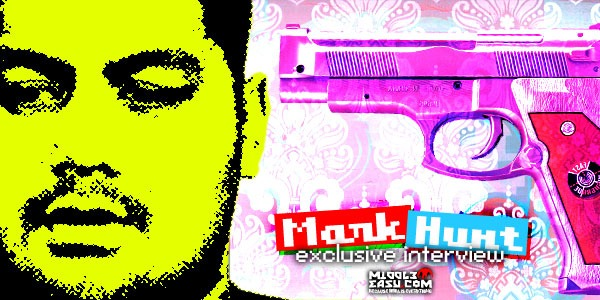 Exclusive interview with Mark Hunt