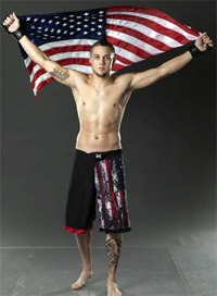 Cameron Dollar is fighting in the UFC this weekend!
