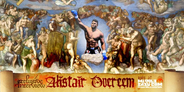 Exclusive interview with Alistair Overeem