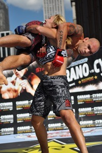 Exclusive pictures: Carano vs. Cyborg Press Conference