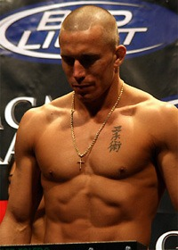 GSP defends his belt from foreign invaders
