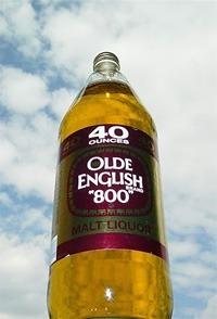 40oz of Olde English inspired Gina Carano