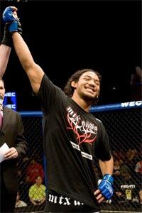 Ben Henderson proves that even Jesus Christ is an MMA fan