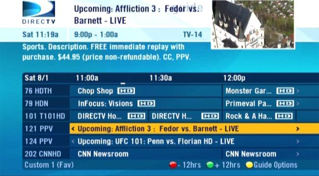 Affliction Trilogy is STILL on! Watch it tonight!