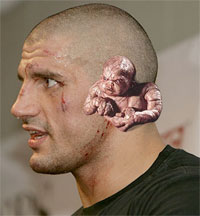 James 'Alien Ear' Thompson is with Strikeforce