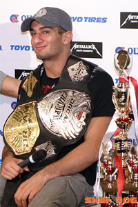 So THAT's why we couldn't get Gegard Mousasi for an interview…