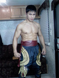 Cung Le gives up his belt to star in another movie