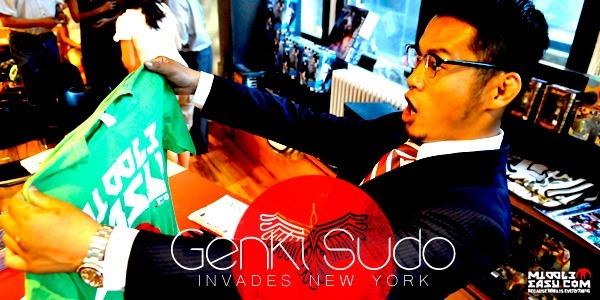 Genki Sudo Invades New York – MiddleEasy Exclusive