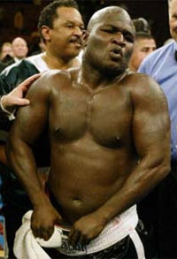 James Toney really digs MMA, even knows who Fedor is