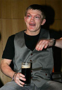 There is a chance Ricky Hatton may go to the UFC