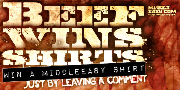 Beef Wins Shirts – MiddleEasy T-Shirt Contest