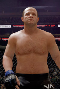 This is what I saw at the EA MMA press conference…