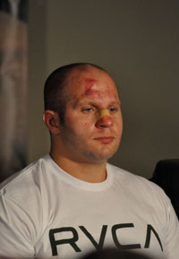 Fedor lies to the world, claims he's 'still human'
