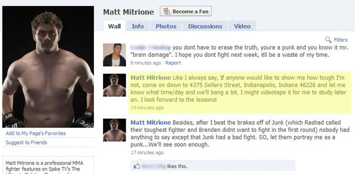 Matt Mitrione personally invites you over to his house…to get brutalized