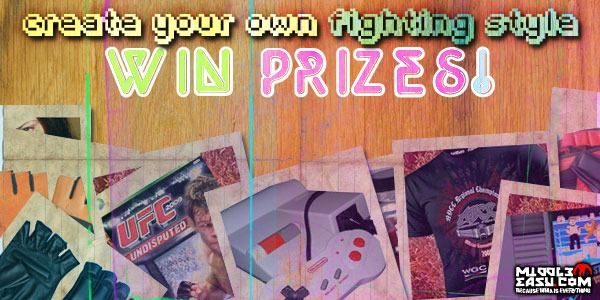 Winners announced for our Create Your Own Fighting Style contest