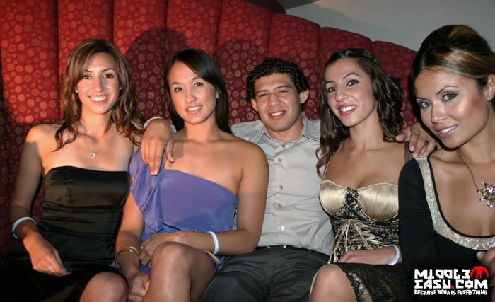 Gilbert Melendez knows how to party