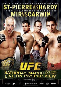 UFC 111: Taking over Your Local Movie Theater
