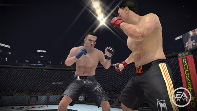 Check out the FIRST pictures of Nick Diaz in EA Sports MMA