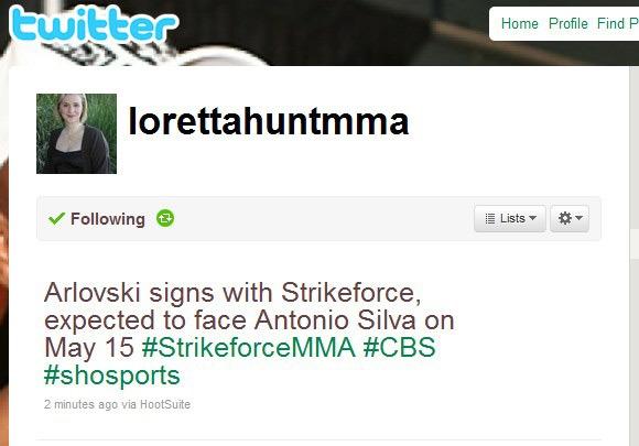 Andrei Arlovski vs. Bigfoot Silva slated for May 15th in Strikeforce