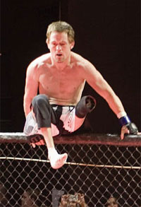 MMA's only one-legged fighter is now 4-1