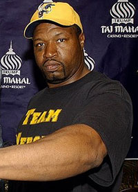Ray Mercer's second MMA bout will be against a guy that's undefeated