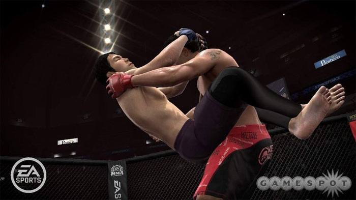 Check out the FIRST pictures of Shinya Aoki in EA MMA