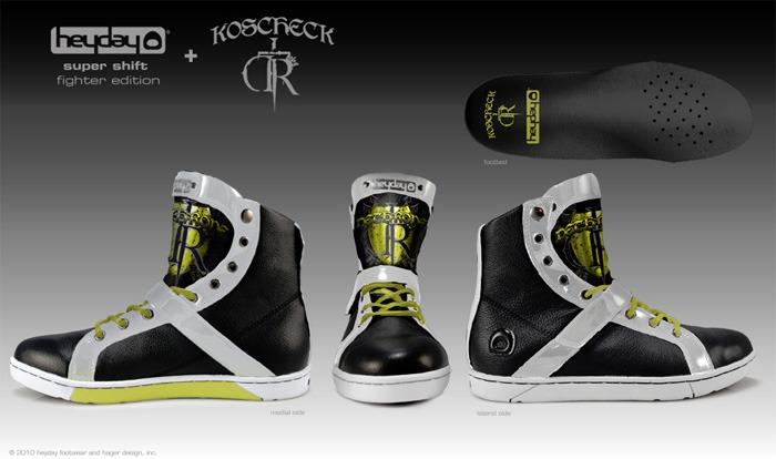 Check out Josh Koscheck's signature shoe line