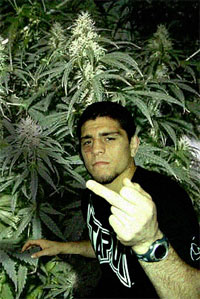 MMA Fighter caught with $1.2 million of marijuana stashed in his gym