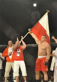 Mariusz Pudzianowski made six-figures in his Moosin debut