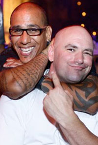 Affliction seems to finally unbeef the beef between Dana White