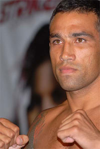 Fabricio Werdum is training in the same ring that Fedor decapitated Tim Sylvia and Andre Arlovski