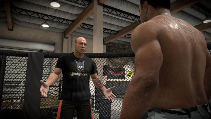 Check out these new pictures of 'Career Mode' in EA Sports MMA