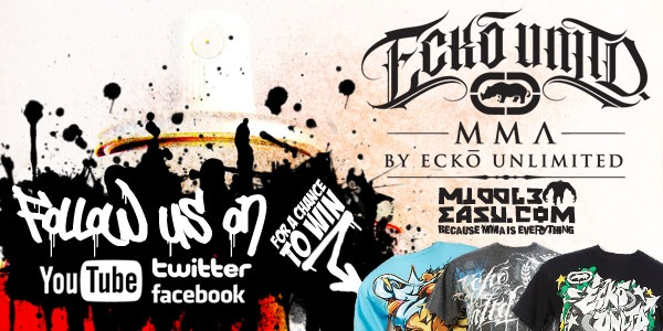 Win FREE Ecko gear by following Ecko MMA and MiddleEasy!