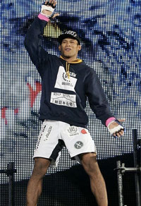 Jacare is the new Strikeforce Middleweight Champion