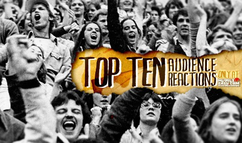 The Top Ten Audience Reactions in MMA