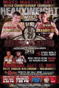 Bellator 29 just may be the sleeper card of the year