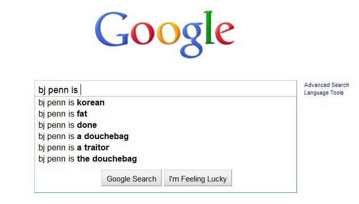 This is what Google says about your favorite fighter