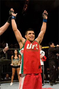 Efrain Escudero becomes the second TUF winner to be cut from the UFC