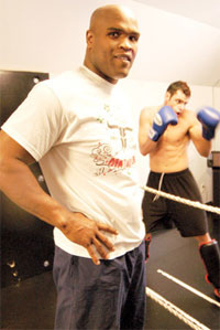 Gary Goodridge walked out of his MFL fight after the promoter admitted he couldn't pay him