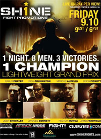 Friday's Shine Fights will not be sanctioned, all fighters who participate will receive suspensions