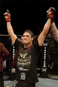 Diego Sanchez just stole Paulo Thiago's soul at UFC 121
