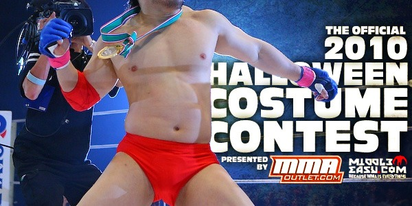 The Official 2010 Halloween Costume Contest – Sponsored by MMAOutlet