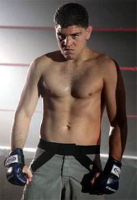 Nick Diaz just gave KJ Noons a healthy dose of the 209