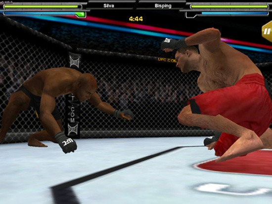 Now you can play UFC Undisputed 2010 on your IPhone (or IPad if you bought one, you yuppy)