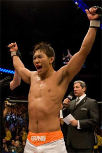 After four years in the UFC, Yushin Okami finally gets his title shot