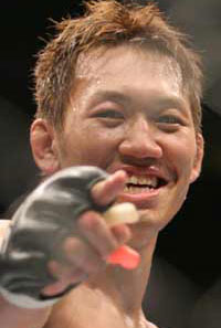 Yushin Okami believes Chael Sonnen is innocent based on his personality